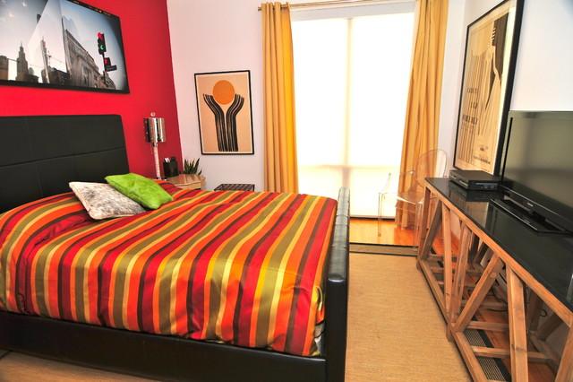 contemporary bedroom by Valerie McCaskill Dickman