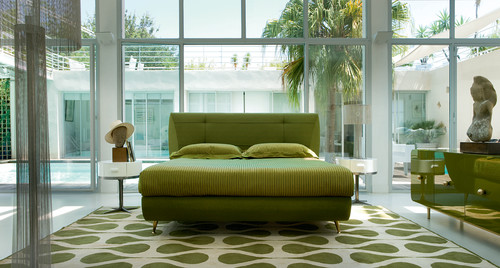 Art Deco - Miami style! contemporary bedroom
