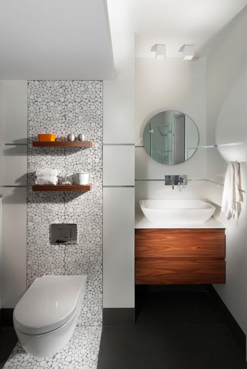 modern bathroom by Elad Gonen & Zeev Beech