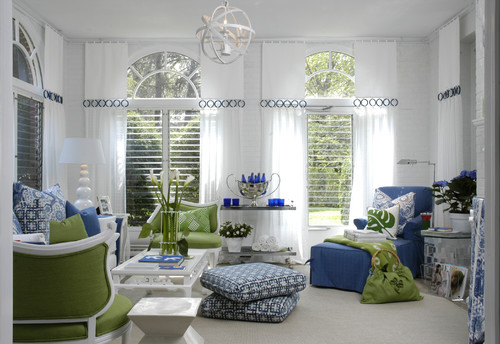 Showhouse contemporary family room