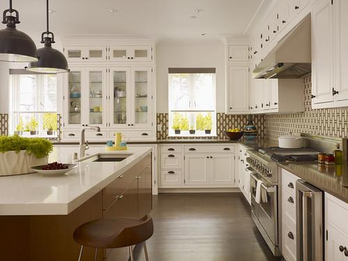 Baker Kitchen contemporary kitchen