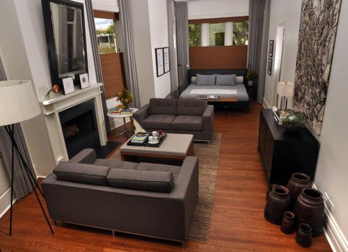 Lincoln Park Master Suite modern bedroom