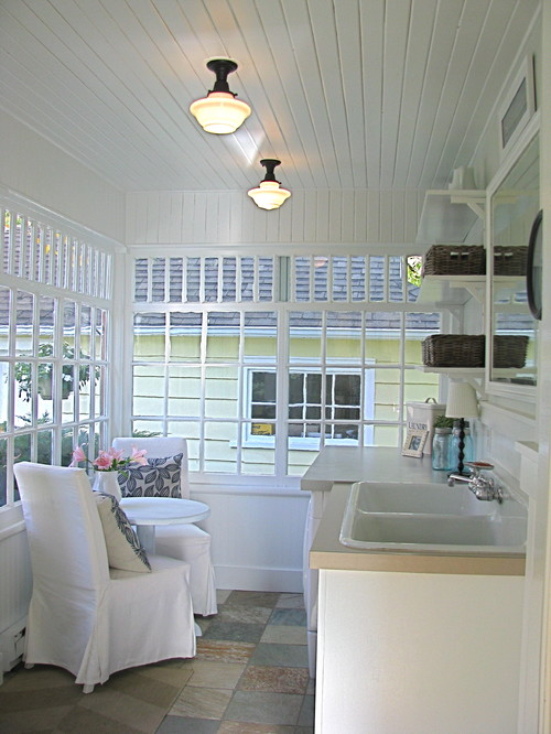 Laundry room with a view traditional laundry room