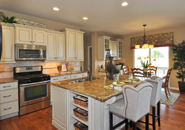 Observatory Village Washington Model Home - Traditional ... on Model Kitchens  id=37884