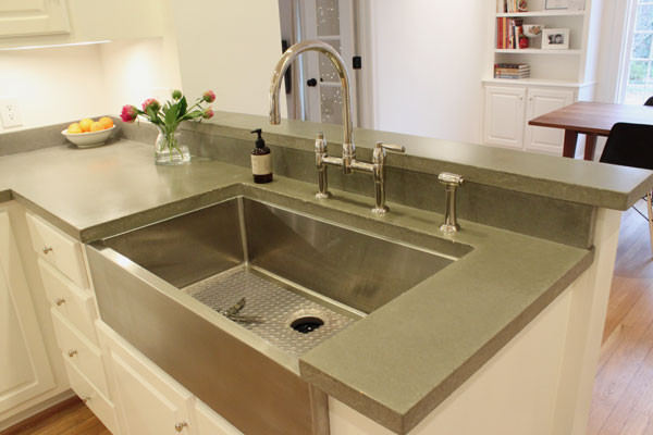 Concrete Countertops Kitchen Other Metro Aaron