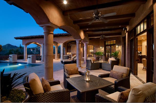 Residential - Mediterranean - Patio - phoenix - by Ownby ... on Houzz Backyard Patios  id=48977