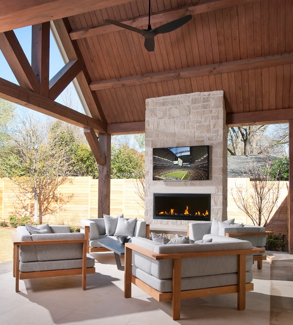 Northaven - Contemporary - Patio - dallas - by TATUM BROWN ... on Modern Back Patio id=82686