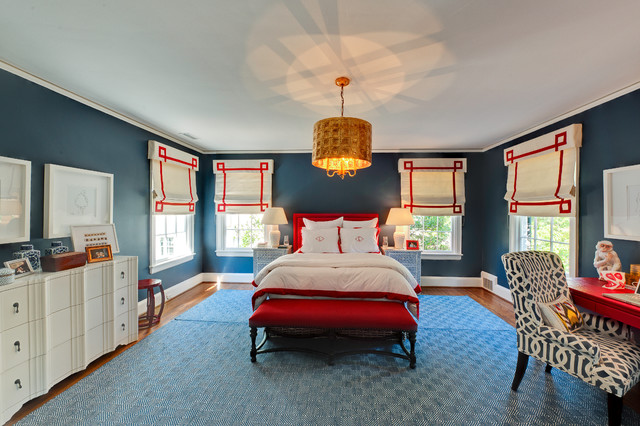 Full Home Remodel:  Traditional Charm Meets Modern Edge eclectic-bedroom
