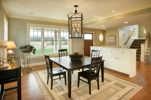 Cape Cod Shingle Style Dining Room