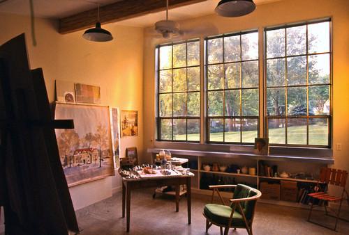 Garage ceramic studio handmaidtales for Office design kansas city