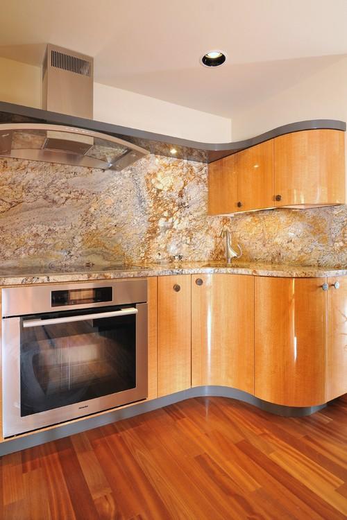Smooth Flow: Typhoon Bordeaux Granite Countertop on Typhoon Bordeaux Granite Backsplash Ideas  id=72285