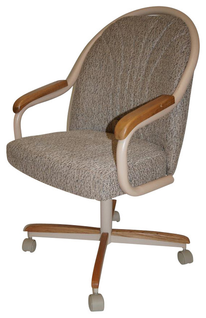 Cushion Rolling Casters Swivel Tilt Chair Traditional Task Chairs