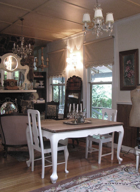 French Farmhouse Table Traditional Living Room Other