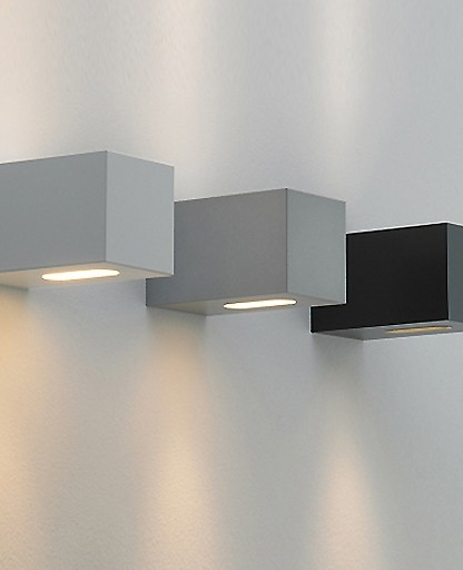 F Sign - qp90 square outdoor wall sconce - Modern - Wall ... on Modern Outdoor Wall Sconce id=46380