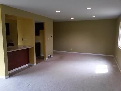 Yellow Gray And Brown Living Room