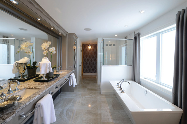 Dream Home Ensuite Bathroom Traditional Bathroom