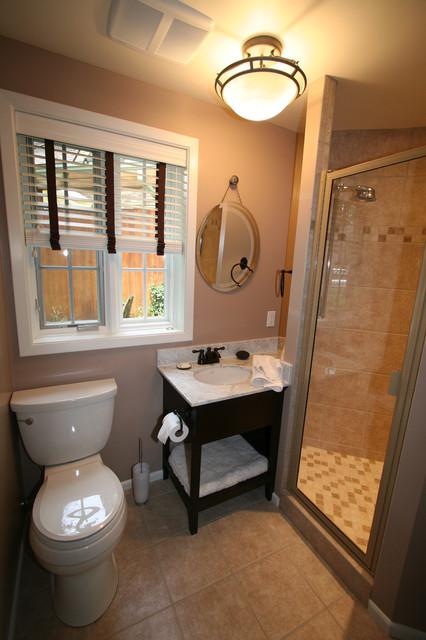 Small Bathroom Beautiful Space - Modern - Bathroom - other ... on Small Space Bathroom  id=92334