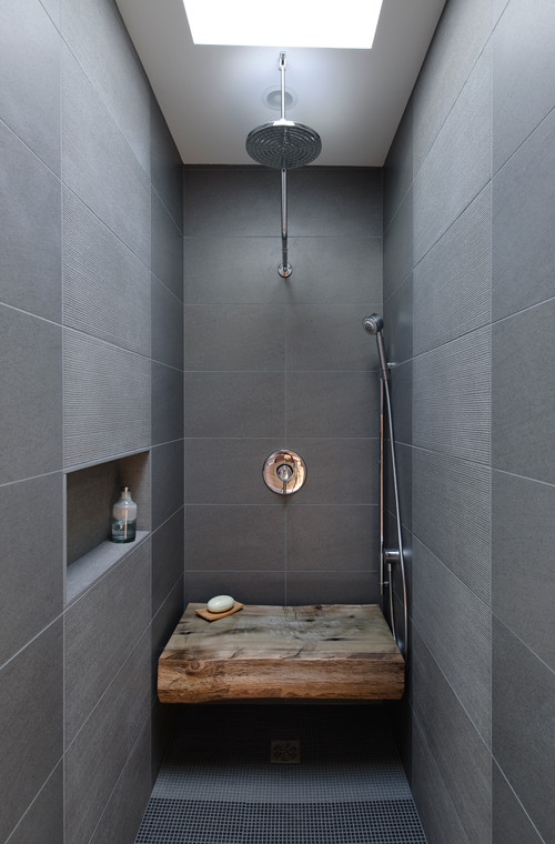 Wood Abounds In Artisan Bath Design