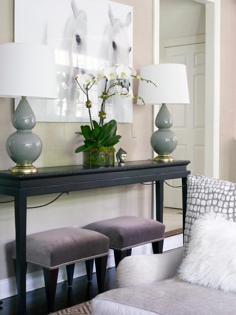 Modern Classic Interiors Modern Family Room New York
