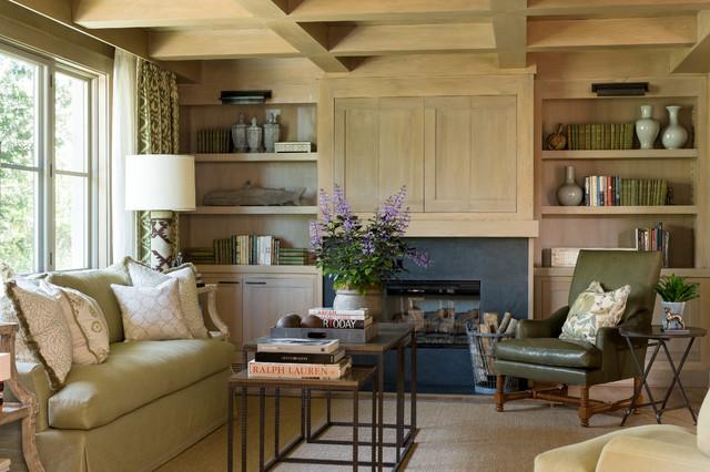 mediterranean living room by Tomaro Design Group