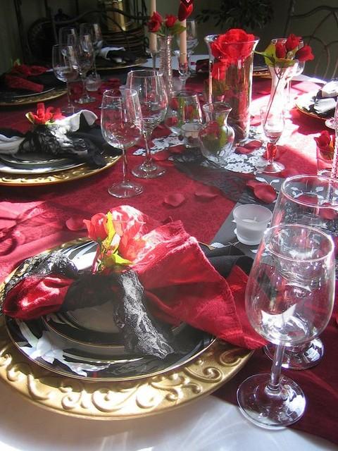 Valentines Day Tablescape Ideas Mediterranean Dining