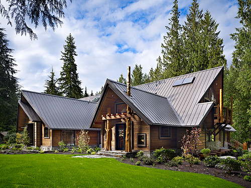 mountain style home design