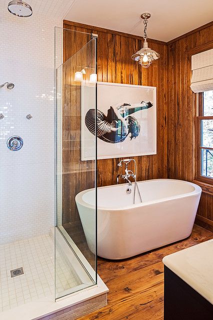 Boat House Beach Style Bathroom Toronto By Peter A