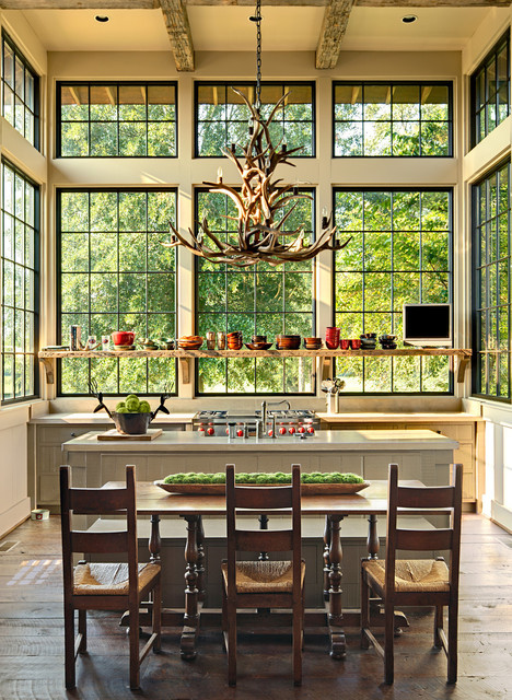 Marsh rustic kitchen