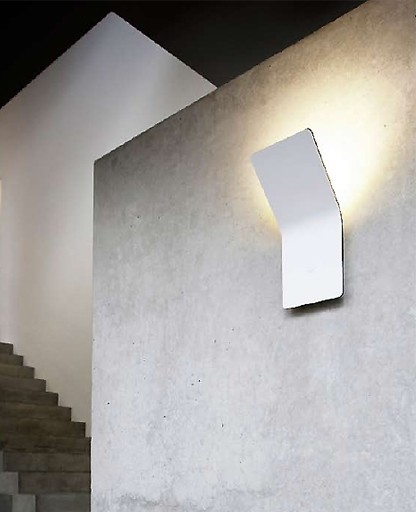 F Sign - One LED wall sconce - Indirect - Modern - by ... on Led Interior Wall Sconces id=51556