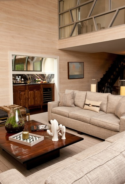 New Jersey Bachelor Pad Modern Living Room Other