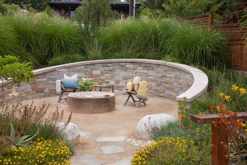 10 Ideas for a Creative, Water-Conscious Yard on Houzz Backyard Patios  id=59394