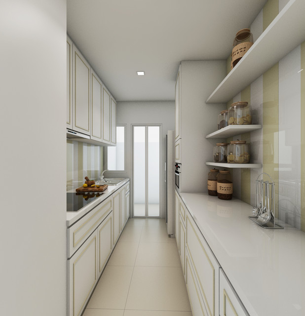 Ghim Moh Link Contemporary Kitchen