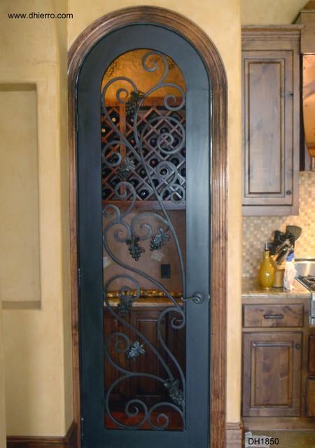 Iron Doors Interior Mediterranean Interior Doors