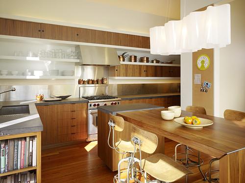 Open Shelving In The Kitchen The Inspired Nester