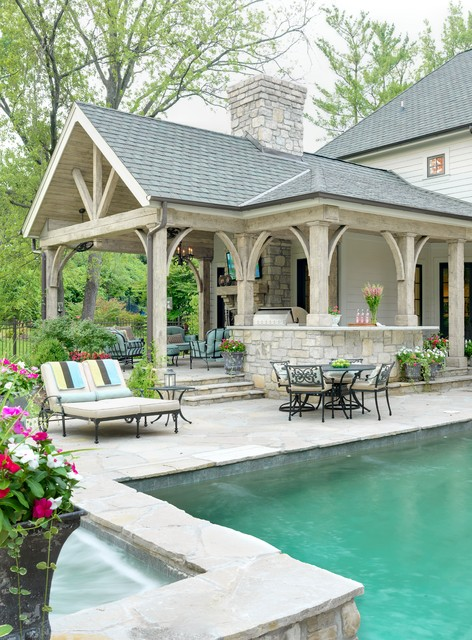Outdoor Living Room - Traditional - Patio - st louis - by ... on Houzz Outdoor Living Spaces id=73462