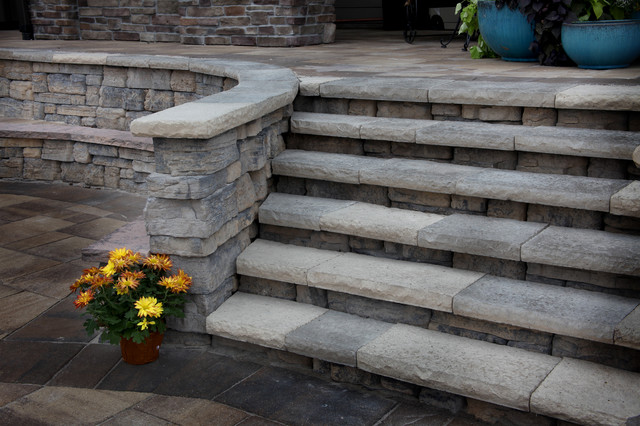 Lakefront Property - Traditional - Patio - omaha - by ... on Lakefront Patio Ideas id=70274