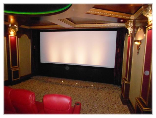 Media Room Curtains Room Ornament