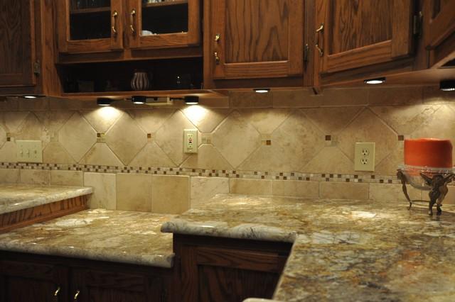 Granite Countertops and Tile Backsplash Ideas - Eclectic ... on Backsplash Ideas With Granite Countertops  id=79679