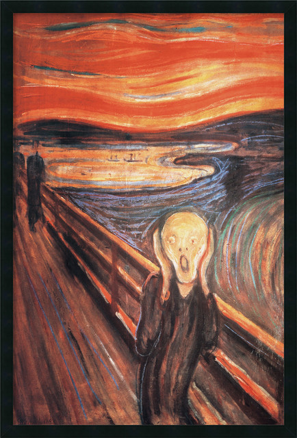 Image result for The Scream by Edvard Munch Original