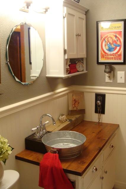 1930s Bungalow Bathroom FarmhouseWestern Style