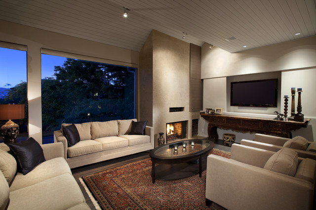 Best Builder Ltd Contemporary Living Room Vancouver