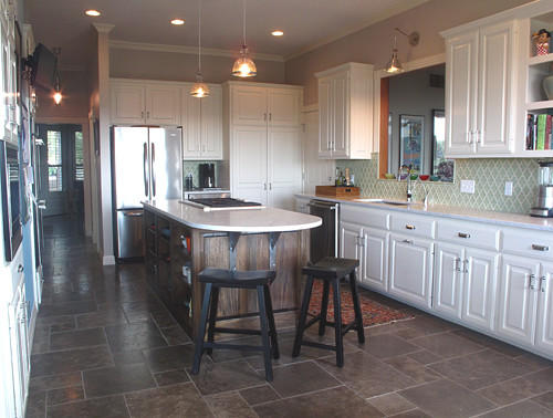 1890s Kitchen Update Eclectic Kitchen Other Metro
