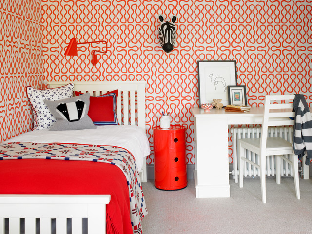 Richmond, 1930's refurbishment contemporary-kids