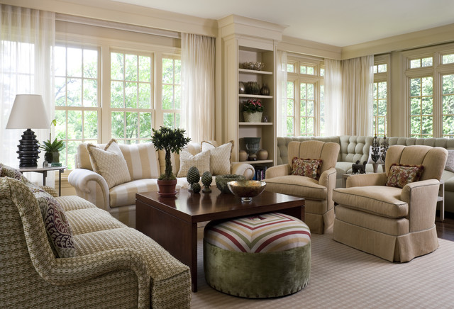 Living Room 5 - Traditional - Living Room - new york - by ...