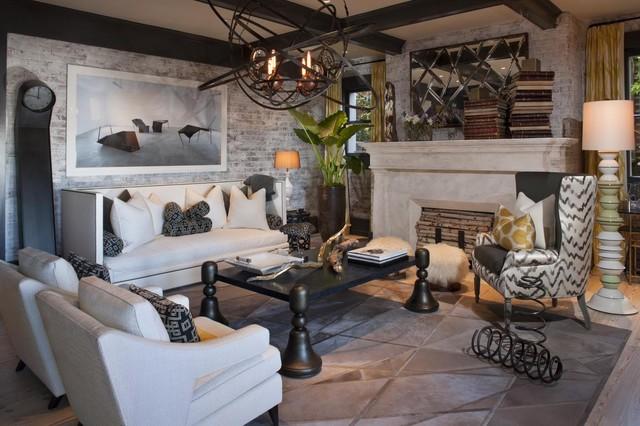 Decorator Showcase - Eclectic - Living Room - san ...