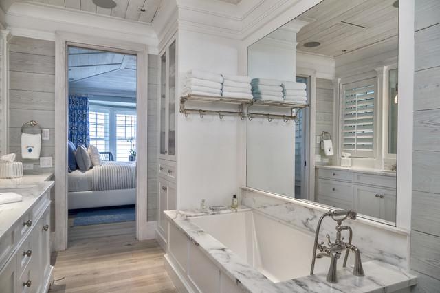 Florida Beach Cottage Beach Style Bathroom Other
