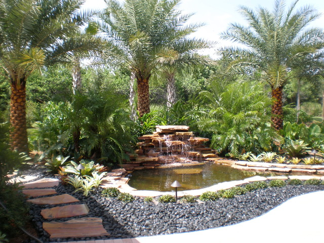 Tropical Landscape Designs on Tropical Backyard Ideas  id=33753