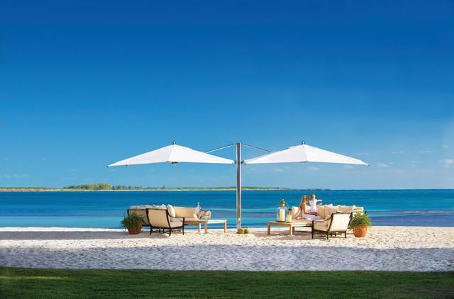 Shade Umbrella Double Cantilever Beach Style Patio