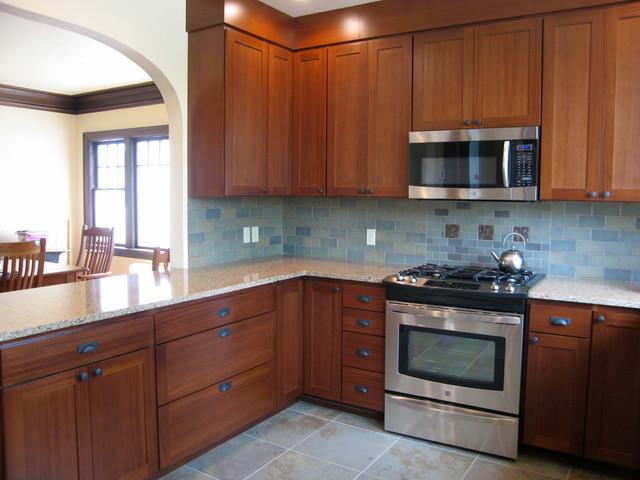 Craftsman Bungalow Kitchen 2010 Traditional Kitchen