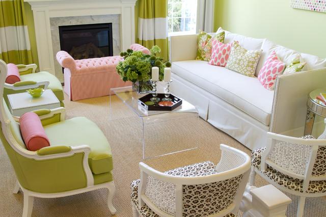 HGTV Showhouse contemporary-living-room